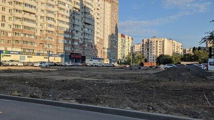 В центре Воронежа снесли самую популярную площадку для выгула собак