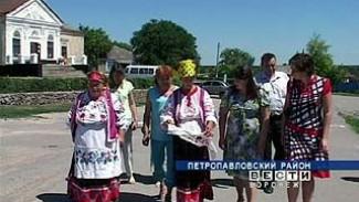 В Петропавловский район нагрянула фольклорная экспедиция
