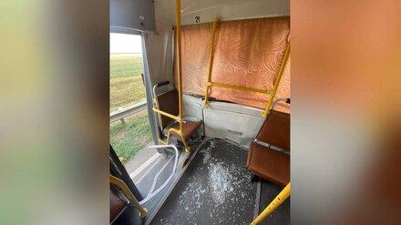 В Воронежской области самосвал врезался в маршрутку: есть раненые пассажиры