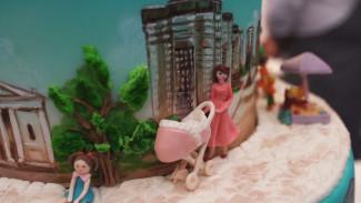 Лучшим тортом Воронежа стала трёхъярусная модель города