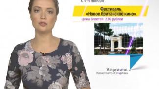 Афиша главных культурных событий Воронежа от 05.11.2015
