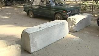 Воронежцы продолжают самовольно перекрывать проезды в свои дворы