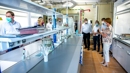 Нововоронежскую АЭС посетила делегация МЧС из Узбекистана