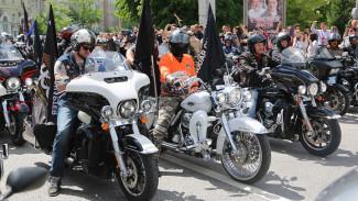 По Воронежу проехала колонна из 1730 мотоциклистов