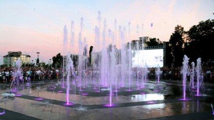 В Воронеже завершили работу главные городские фонтаны