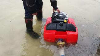 В Новоусманском районе из-за паводка подтопило несколько десятков приусадебных участков