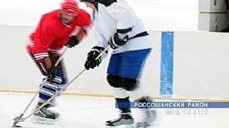В Поповке проводят соревнования по хоккею среди любителей