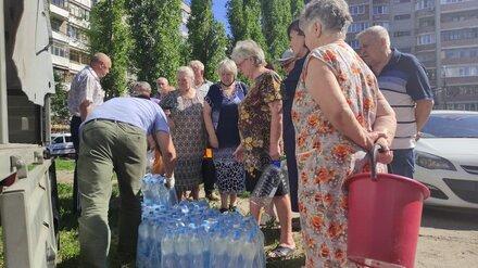 Для жителей Левого берега Воронежа увеличили число точек подвоза воды