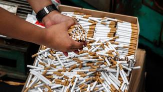 На воронежских прилавках появились нелегальные сигареты