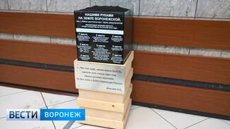 Воронежцы заметили на городском Центральном рынке куб чернозёма