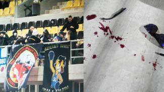 На фанатов воронежского «Факела» напали в ходе матча на Кипре