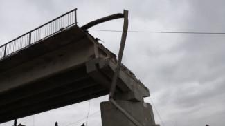 СМИ: обрушившийся в Воронежской области автомобильный мост был построен с нарушениями