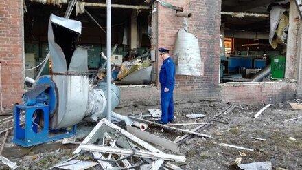 Прокуратура проводит проверку по факту взрыва на фабрике в Воронежской области