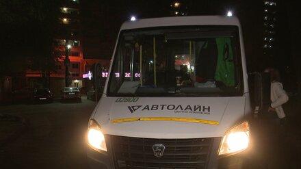 В Воронеже разогнали ночевавших в автобусах водителей маршруток
