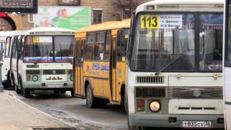 Новая организация проконтролирует общественный транспорт Воронежа
