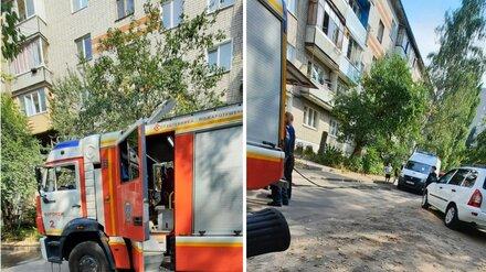 В Воронеже 7-летний ребёнок едва не сгорел на балконе пятиэтажки