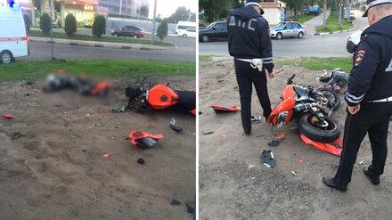 В Воронеже насмерть разбился мотоциклист