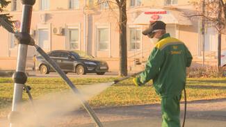 В Воронеже из-за ковида начали дезинфицировать скверы и парки