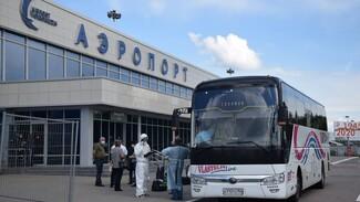 В обсерватор под Воронежем отвезли 21 прилетевшего из Армении туриста