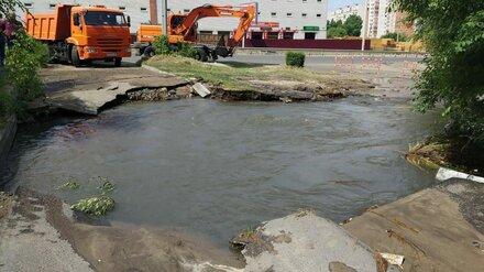 Коммунальная авария оставила без воды один из районов Воронежа