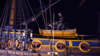 Сотрудники «Гото Предестинации» назвали фото воронежского байкера на корабле-музее фейком
