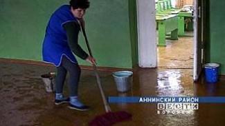 В Пугачевской школе течет крыша