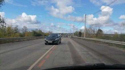 На семилукском мосту под Воронежем начали ремонт второй полосы