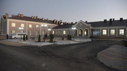 Современный интернат для пожилых и инвалидов откроется в Воронежской области в январе
