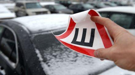 Водителям в России разрешили не устанавливать знак «Шипы» на машины