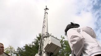 Воронежцы забили тревогу из-за появившейся под окнами вышки сотовой связи
