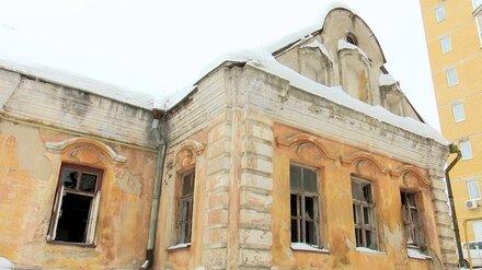 В Воронеже полуразвалившийся Дом Гарденина подготовят к реконструкции