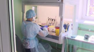 Медики показали, как в воронежских лабораториях делают анализ на коронавирус