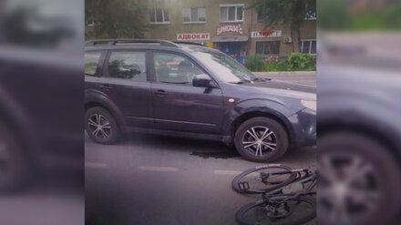 Водитель кроссовера сбил велосипедиста на перекрёстке в Воронеже