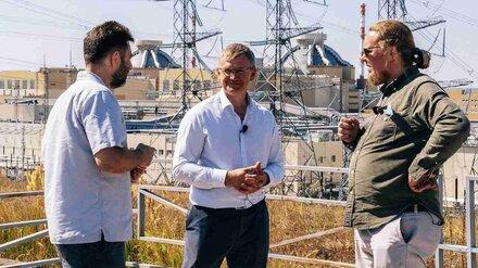 Ведущие «Маяка» Сергей Стиллавин и Рустам Вахидов убедились в безопасности Нововоронежской АЭС