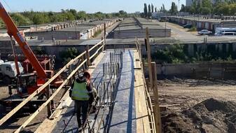 Воронежцам показали, как изменилась Остужевская развязка за 3 месяца реконструкции