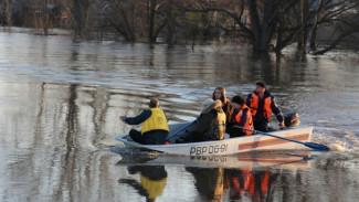 В Рамонском районе из-за паводка прекратилось движение по мостам через реку Воронеж