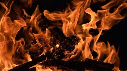 При пожаре в Воронежской области пострадал пенсионер