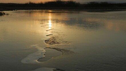 В Воронежской области 57-летний мужчина провалился под лёд и утонул