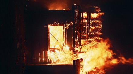 При крупном пожаре в воронежском райцентре погибли супруги
