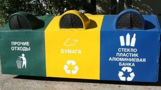 Воронежская область перейдёт на раздельный сбор мусора в 2020 году