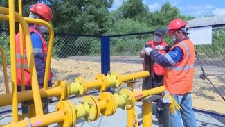 В воронежском хуторе на 80% завершили работы по газификации