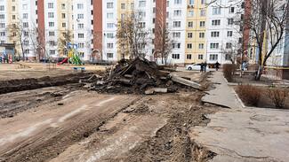 В Воронеже началось масштабное благоустройство дворов