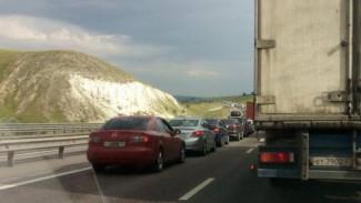 В Воронежской области ограничат движение фур на трассе М-4 у села Лосево