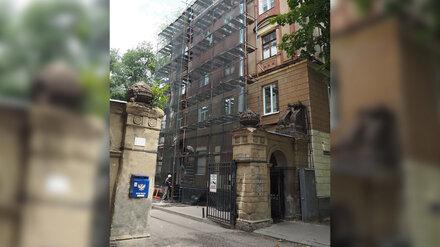 Уникальные ворота в центре Воронежа восстановят профессиональные скульпторы