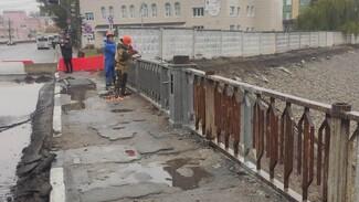 Виадук у «Работницы» закрыли для пешеходов в Воронеже