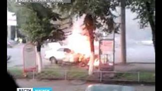 В Воронеже у автовокзала столкнулись сразу три автомобиля