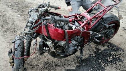Друзья воронежского мотоциклиста, попавшего в реанимацию, ищут свидетелей ДТП