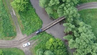 «К нам не проехать». Воронежские сельчане забили тревогу из-за закрытия моста