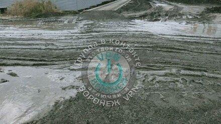 Строительство многоэтажки под Воронежем оставило школьников без тротуара