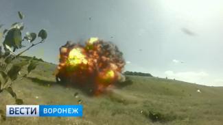 Под Воронежем уничтожили более 300 боеприпасов времён войны
